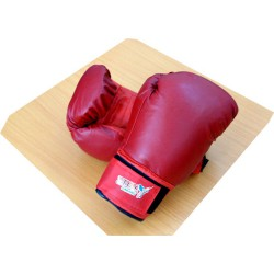 10 oz boxing gloves Vinyl – Red