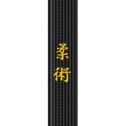 Broderie centura - Jiu Jitsu