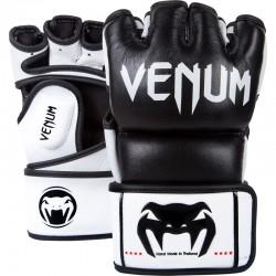 "Venum ""Undisputed"" MMA Gloves - Black - Nappa Leather"