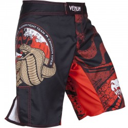 "Venum ""Crimson Viper"" Fightshorts - Black"