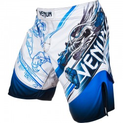 "Venum Lyoto Machida ""Tatsu King"" Fightshorts - Ice/Blue"