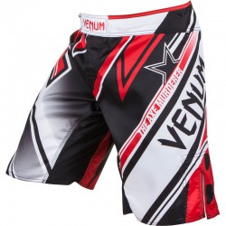 "Venum ""Wand's Conflict"" Fightshorts - Black/Ice/Red"