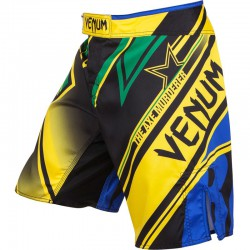 "Venum ""Wand's Conflict"" Fightshorts - Yellow/Blue/Green"