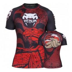 "Venum ""Absolute"" Crimson Viper Rashguard - Short Sleeves"