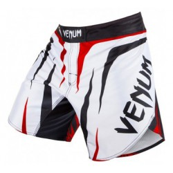 "Venum ""Sharp"" Fightshorts - Ice/Black/Red"