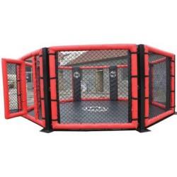 Cușcă MMA fără platformă, formă octogonală