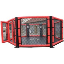 MMA Cage no-Platform, octagonal