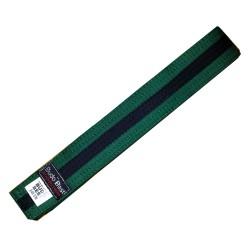 Centura BJJ Verde/Negru - 4 cm