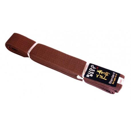 Brown Belt Karate width of 4 cm