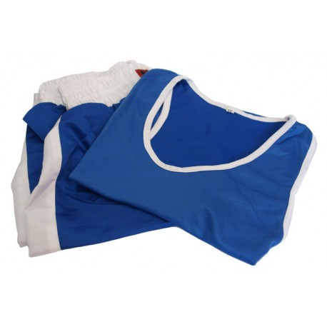 Costum box - albastru