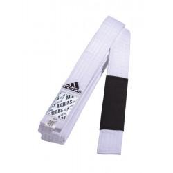 Centura Jiu Jitsu Brazilian, alb/negru