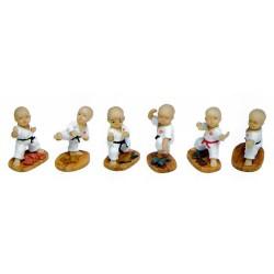 Set karate figurines 1 (6 pcs)