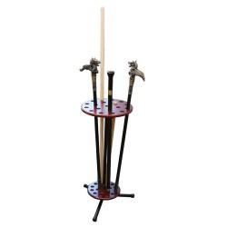 Stativ rotativ pentru săbii baston