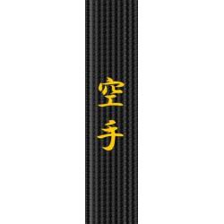 Broderie centura - Karate
