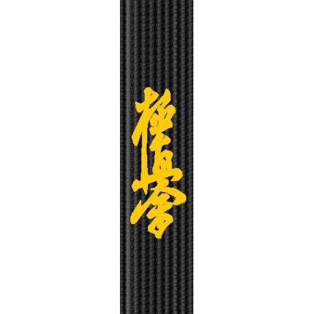 Broderie centura - Kyokushinkai Caligrafie