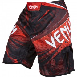 "Venum ""Galactic"" Fightshorts - Black/Red"