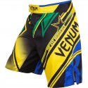 """Venum """"Wand's Conflict"""" Fightshorts - Yellow/Blue/Green"""