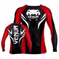 "Venum ""Electron 2.0"" Rashguard - Black, Mâneci lungi"