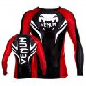 "Venum ""Electron 2.0"" rashguard - Black - Long sleeves"