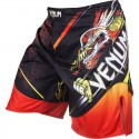 "Venum Lyoto Machida ""Tatsu King"" Fightshorts - Black/Orange"