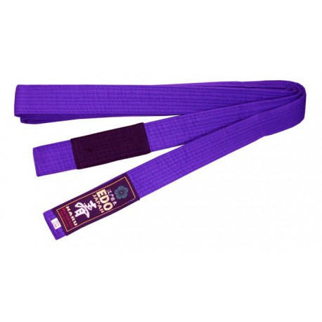 Centura BJJ Violet /Negru