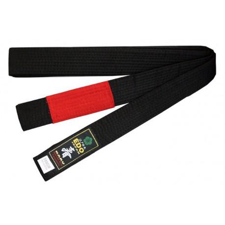 Bjj Belt Black/Red