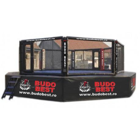 Cușcă MMA profesionala cu platformă si catwalk