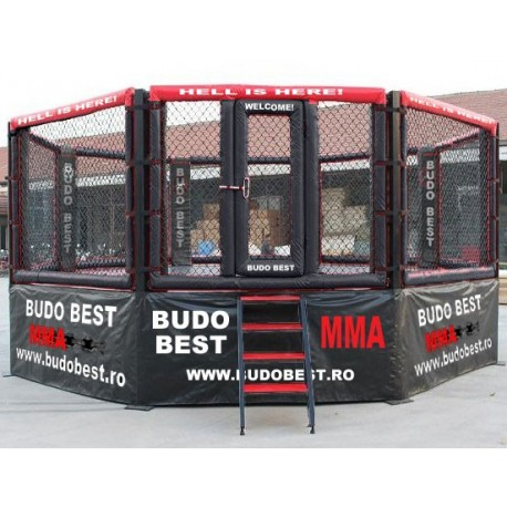 MMA Cage Platform, octagonal