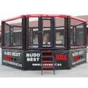 Cușcă MMA cu platformă, formă octogonală