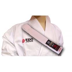 Karategi Edo Toso (cu centura)