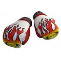 Boxing gloves - Flame - Velcro