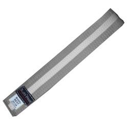 Centura BJJ Gri/Alb - 4 cm