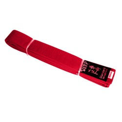 Red Belt Karate width of 4 cm