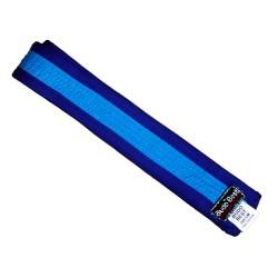 Centura bleu cu chenar bleumarin