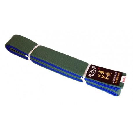 Centura bicoloră verde-albastru 50/50