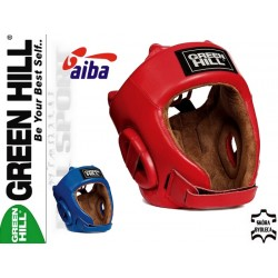 Casca de box Green Hill Five Star, aprobata AIBA