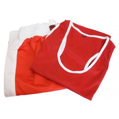 Costum box - roșu