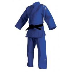 """Kimono Judo Adidas """"Champion II"""" - Albastru"""