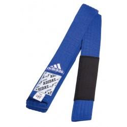 Centură Adidas pentru Jiu Jitsu Brazilian - albastru/negru