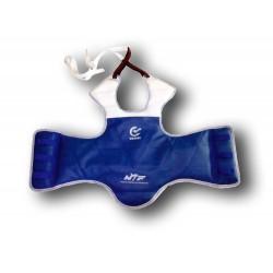 Vestă de protecție pentru taekwondo - Wacoku (omologată)