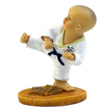 """Figurina mica karate """"D"""""""