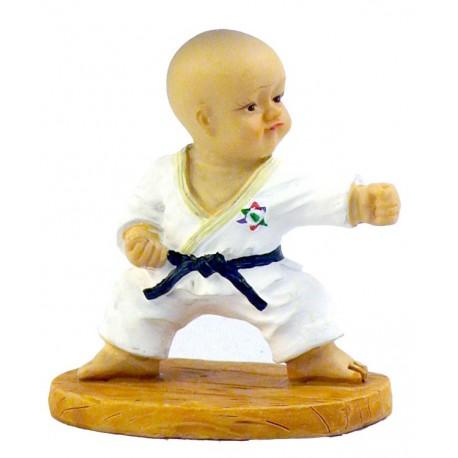 "Figurina mica karate ""F"""