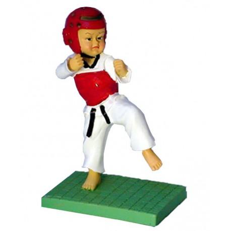Figurina Taekwondo - Protectii Rosii
