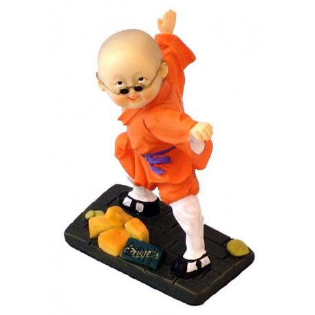 Figurina Shaolin - Portocaliu (1)