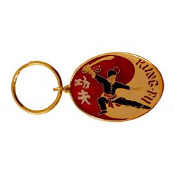 Oval Keyring Kung Fu