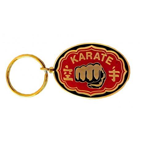 Oval Keyring Karate