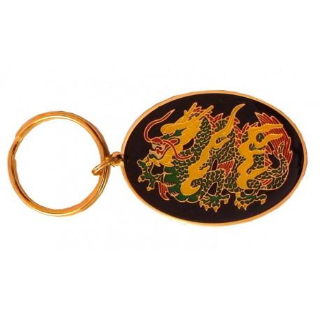 Breloc Oval Dragon